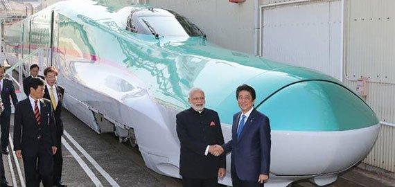 सन 2022 में भारत की पटरी पर दौड़ेगी बुलेट ट्रेन